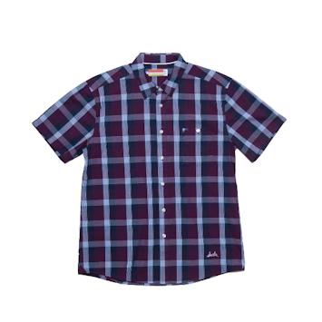 Slvdr Stockton Blue, modrá-kostkovaná košile