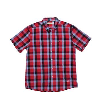 Slvdr Stockton Red, červená-kostkovaná košile