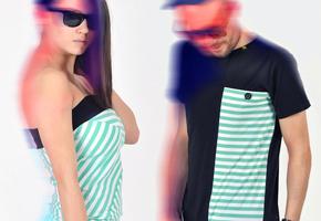 Pattern dámské a pánské oblečení
