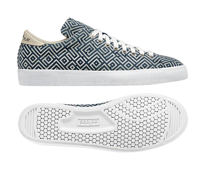 adidas Originals Match Play boty geometrický vzor