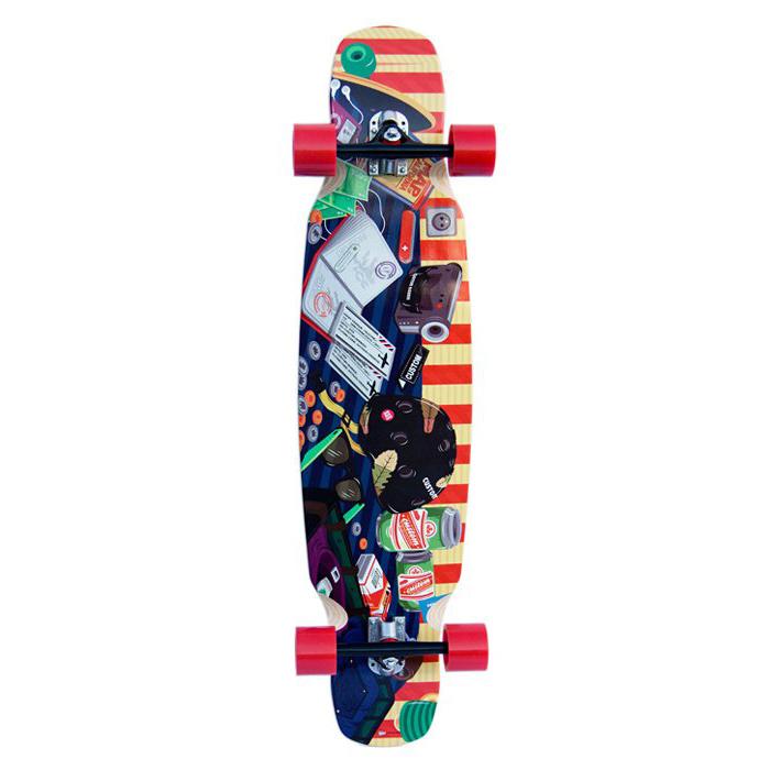 Custom Boards longboard komplet Trippin