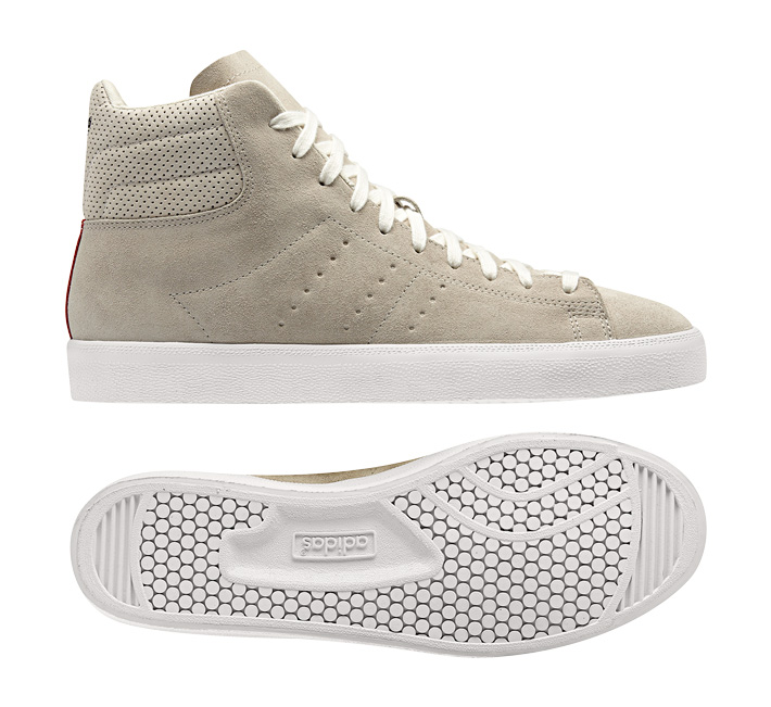 adidas Originals Match Play semišové kotníkové boty béžové