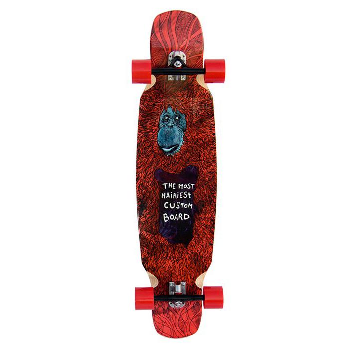 Custom Boards longboard komplet Nejchlupatější