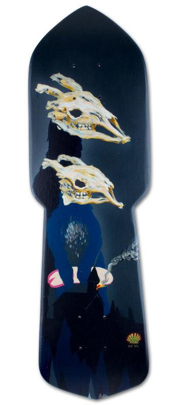 Retart skate prkno artboard