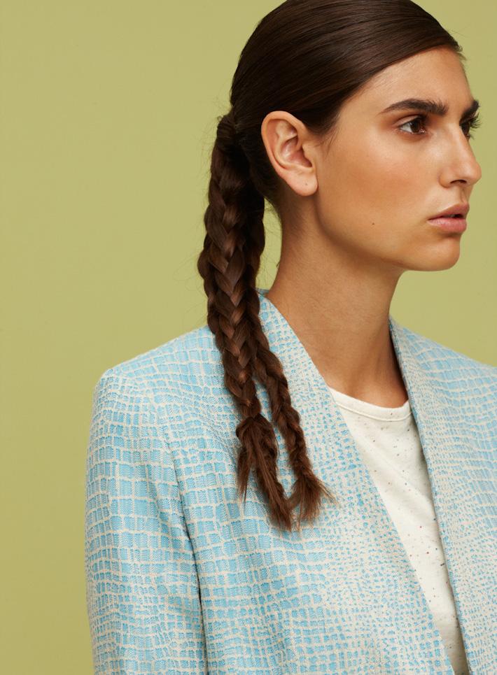 Libertine Libertine dámské modré sako, hadí motiv
