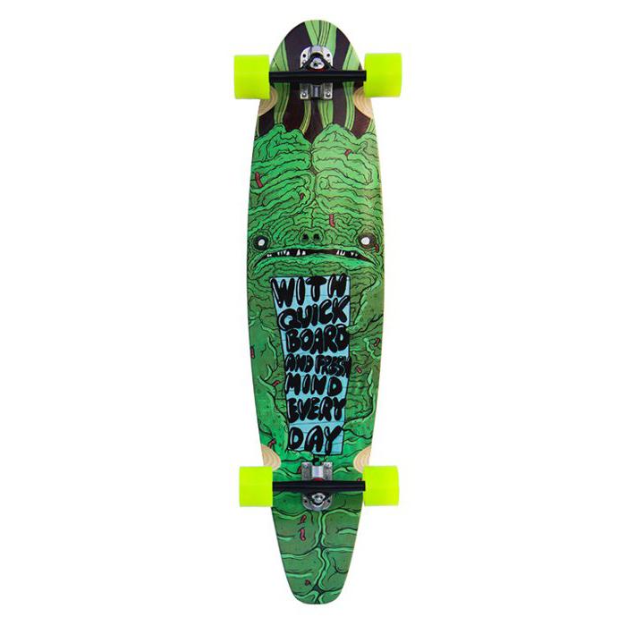 Custom Boards longboard komplet Skate Mozek