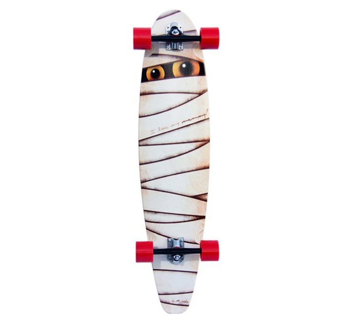 Custom Boards longboard komplet Mummy