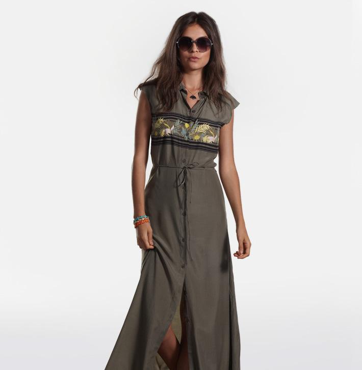 Stussy dámské letní šaty