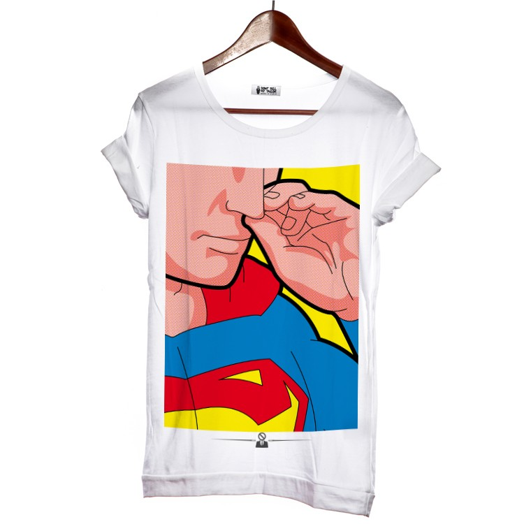 Never Tell Your Taylor Superman, popart tričko