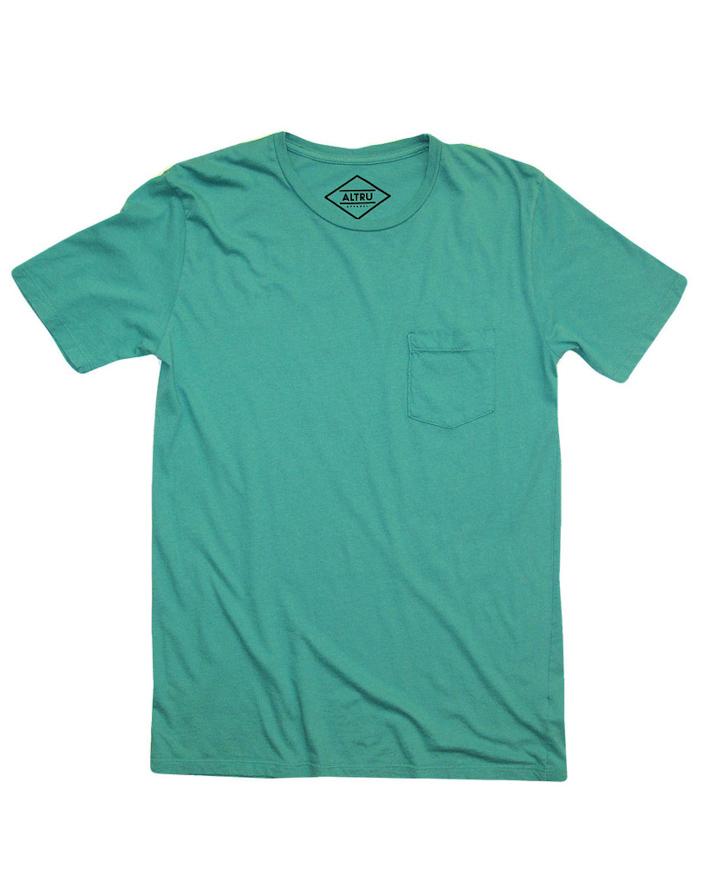 Altru zelené pánské tričko
