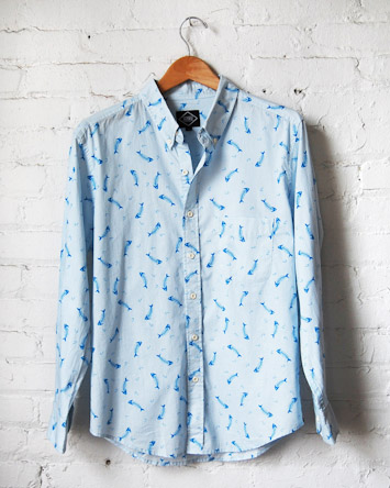 Altru modrá pánská košile dlouhý rukáv