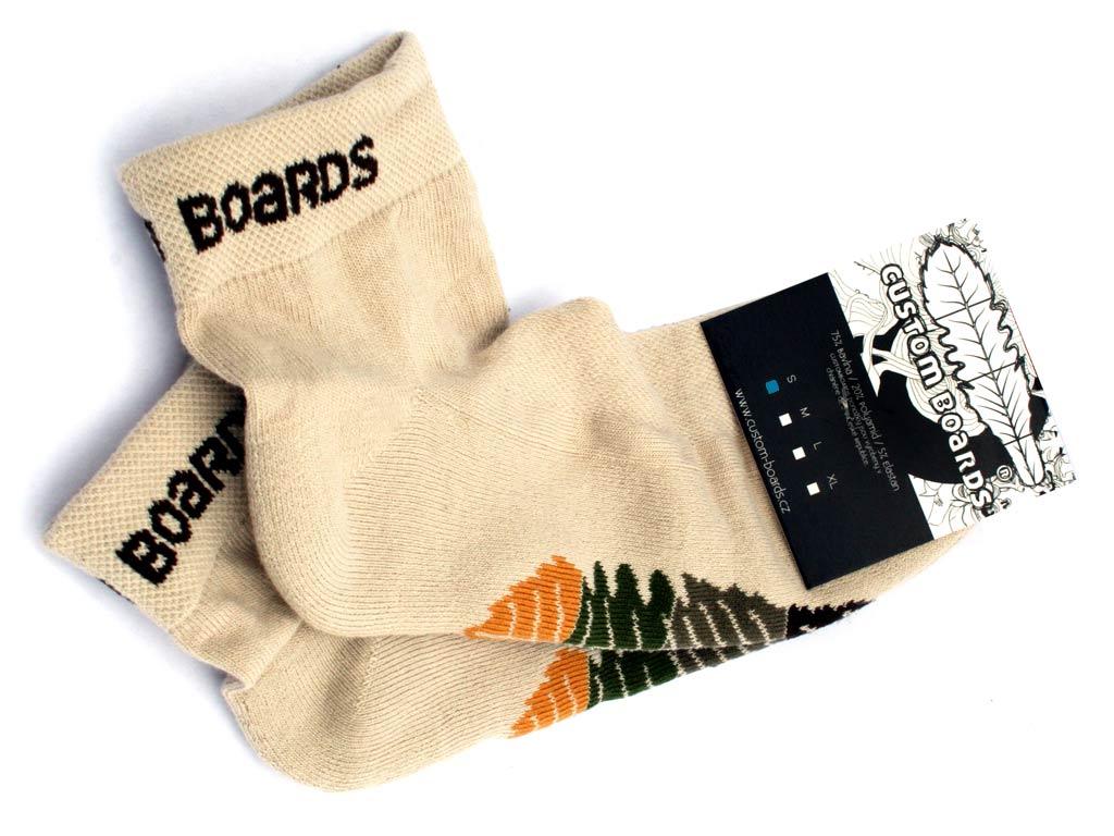 Custom Boards ponožky na longboard