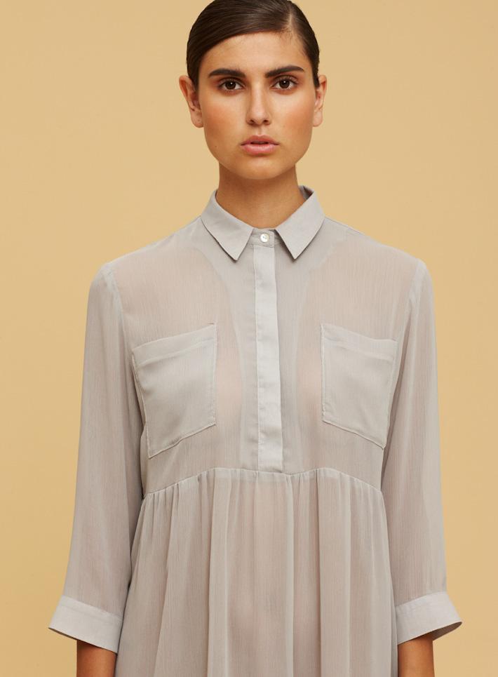 Libertine Libertine dámské šedé průhledné šaty