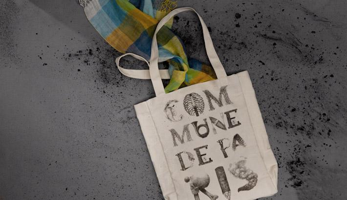 Commune de Paris textilní taška