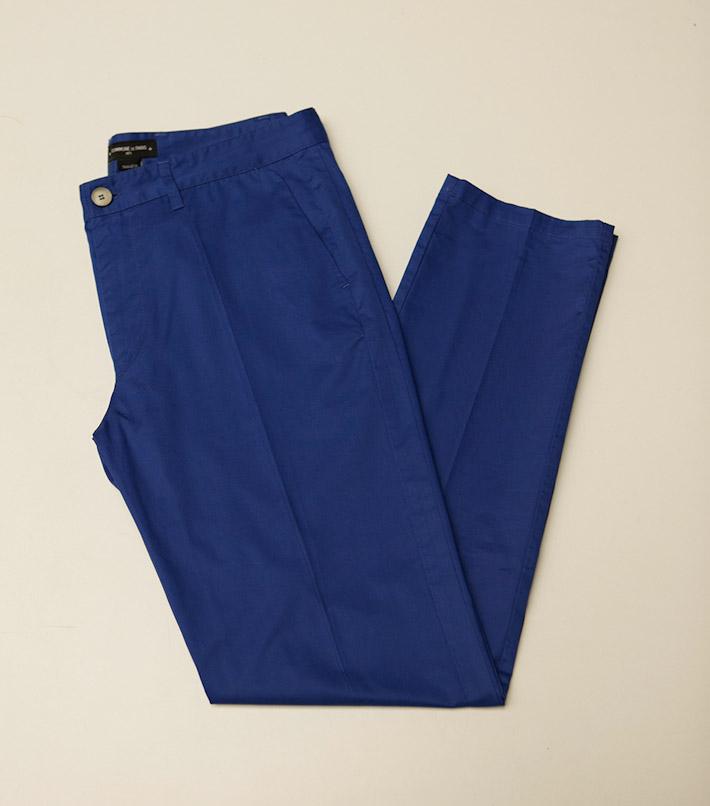 Commune de Paris pánské modré kalhoty
