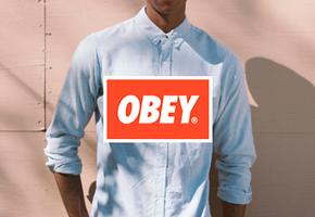 Obey pánské oblečení jaro 2013