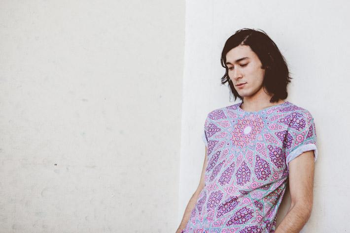 Just Hype vzorované tričko pánské