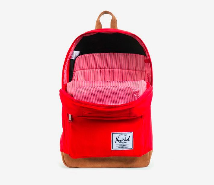 Herschel Supply batoh na záda červený