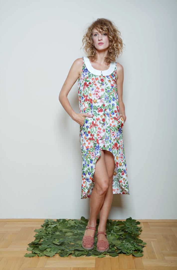 Kele dámské květinové šaty