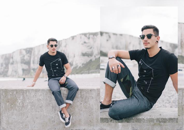 Still Good pánské černé tričko