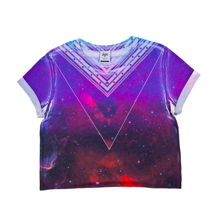 Just Hype barevné tričko