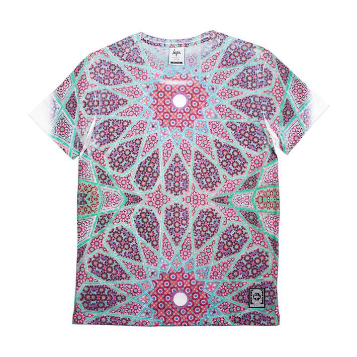 Just Hype vzorované barevné tričko