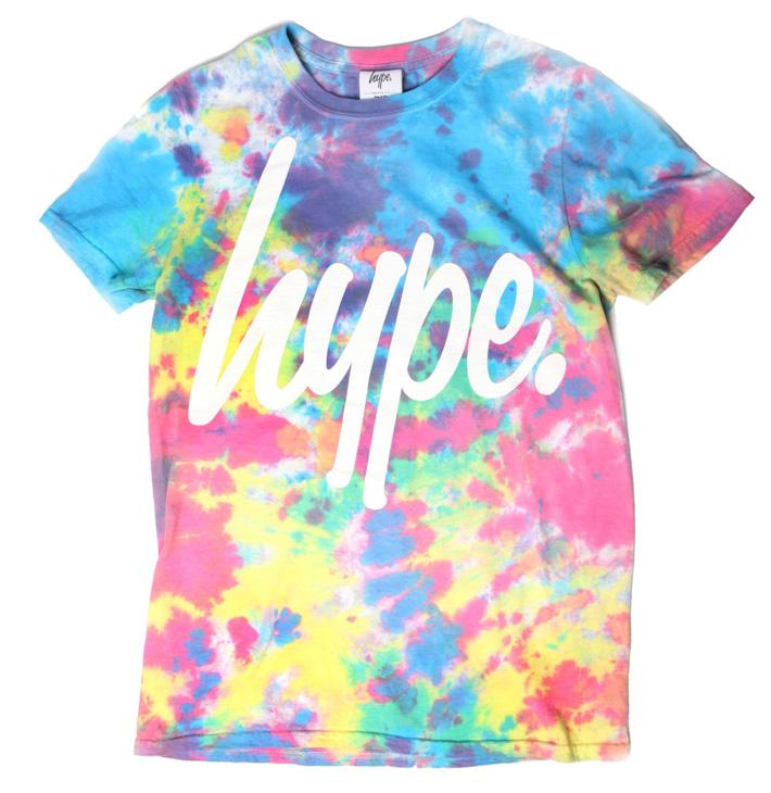 Just Hype barevné triko