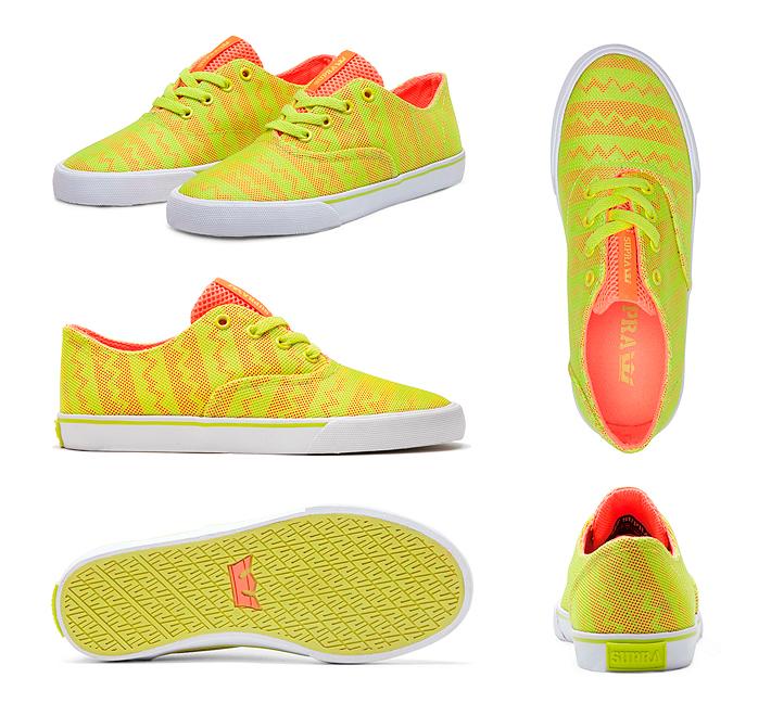 Supra Wrap dámské boty orange tennis white žluté oranžové