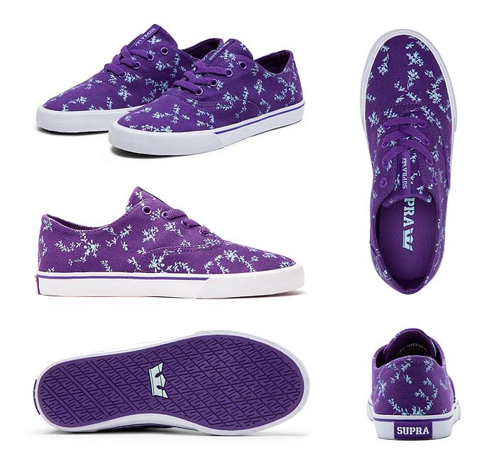 Supra Wrap dámské boty purple bluegrass white fialové