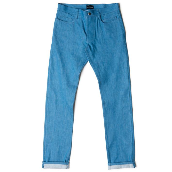 Outclass pánské kalhoty modré