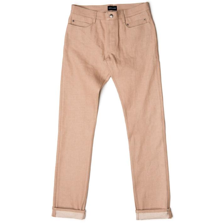 Outclass pánské kalhoty bronzové barvy