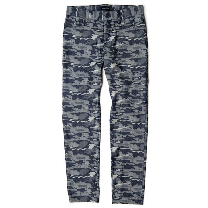 Outclass pánské kalhoty maskáčový vzor