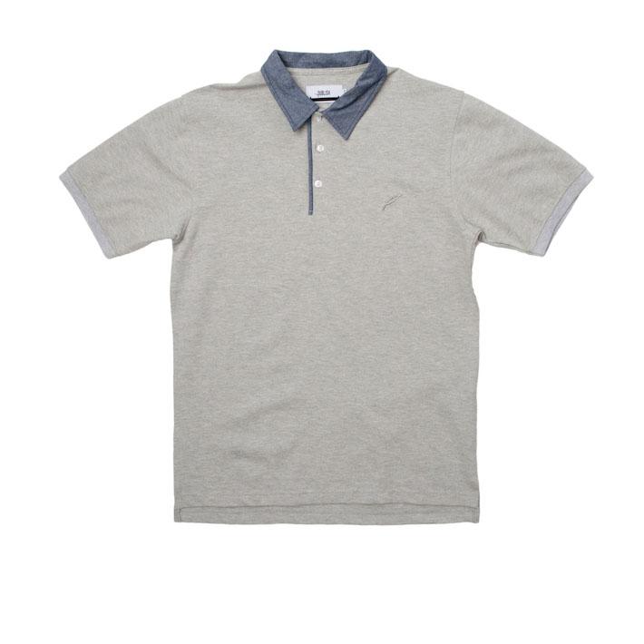 Publish pánské tričko slímečkem šedé, polokošile