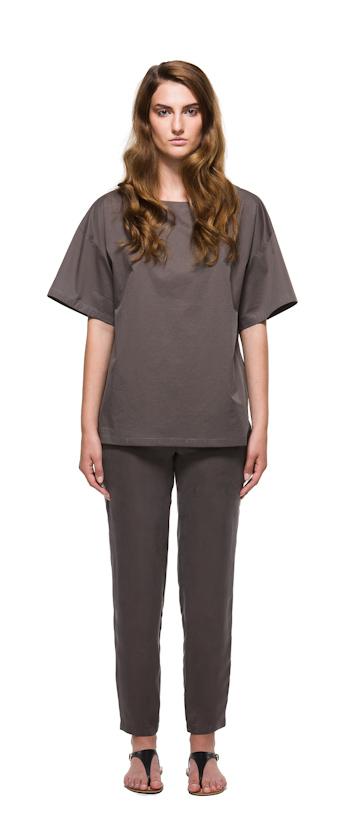 Sca Ulven dámské tričko akalhoty bronzové barvy