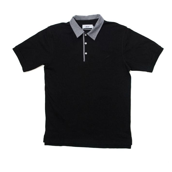 Publish pánské tričko slímečkem černé, polokošile