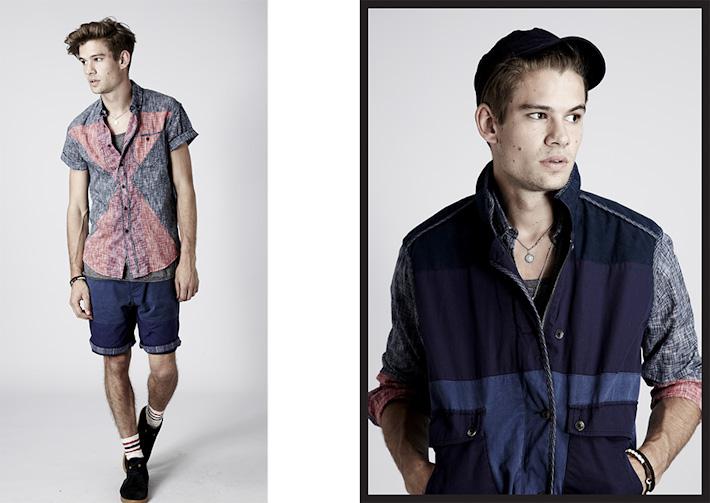 Volklore pánská košile, pánská bunda, šortky