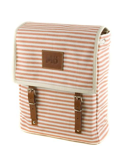 Mö Heap pruhovaný batoh na záda