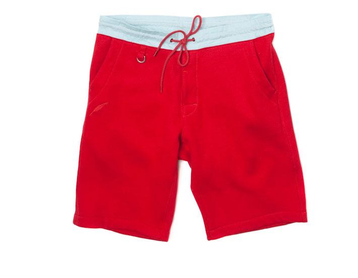 Publish šortky červené pánské