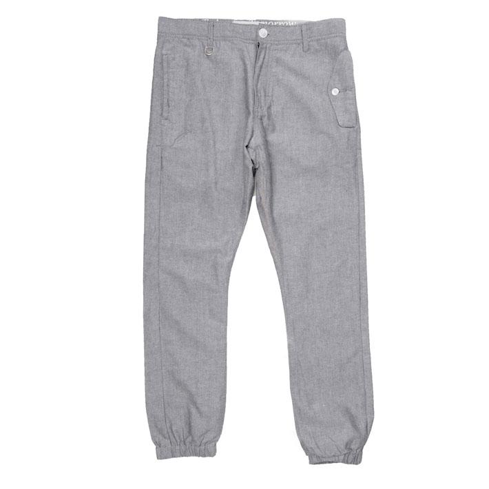 Publish pánské šedé kalhoty, nohavice sgumou