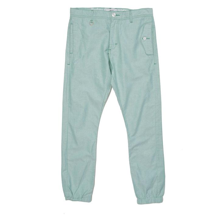 Publish pánské zelené kalhoty, nohavice sgumou