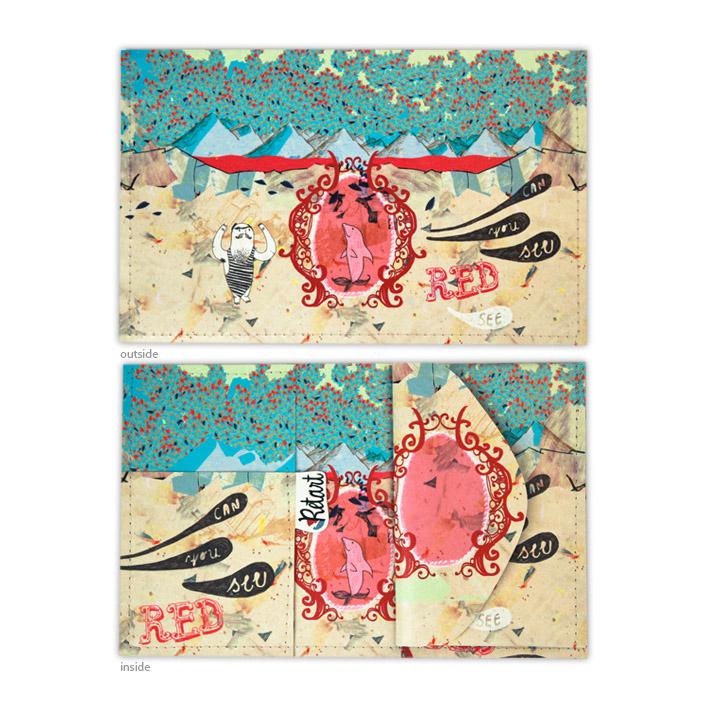 Retart, Gurinova peněženka spotiskem, printed wallet