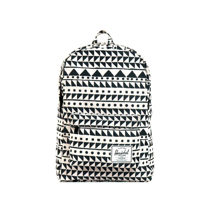 Herschell Supply batoh na záda Classic bílý sčerným patternem