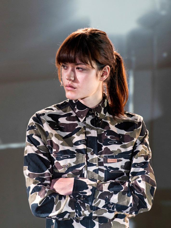 Carhart WIP, dámská košile smaskáčovým vzorem