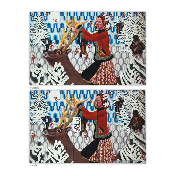 Retart, Denes peněženka spotiskem, printed wallet