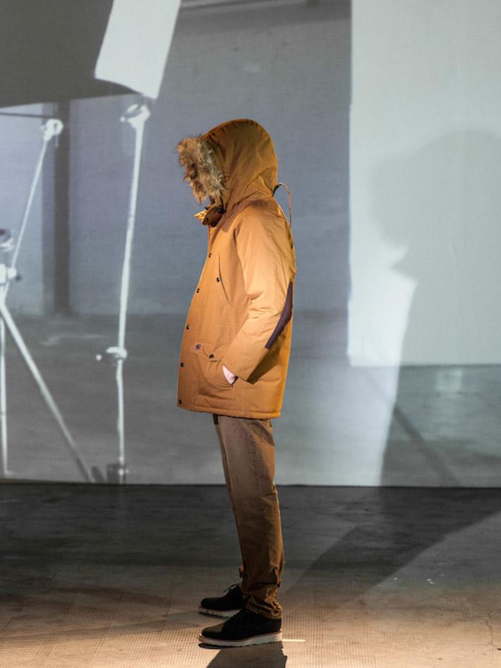 Carhart WIP hnědá pánská zimní bunda skapucí akožíškem