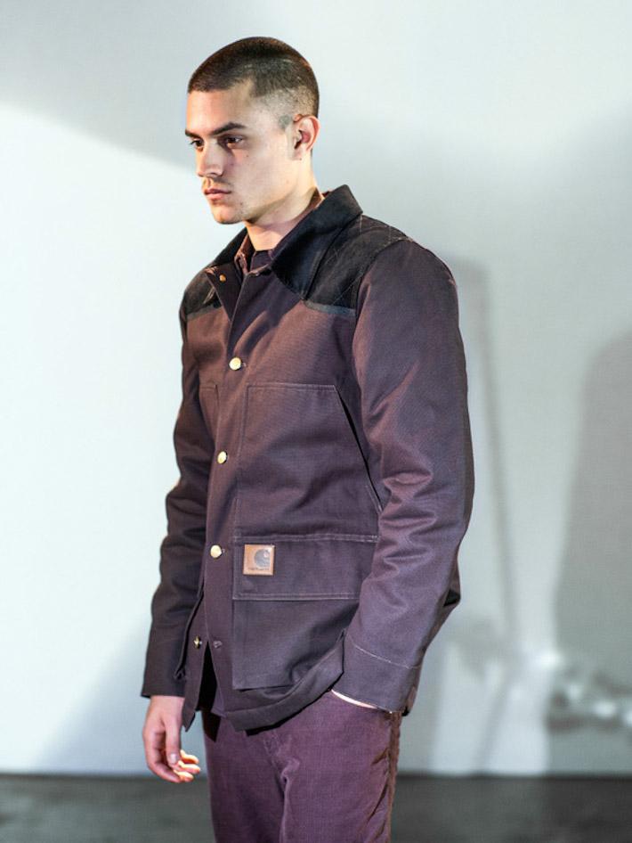 Carhart WIP fialová pánská podzimní bunda