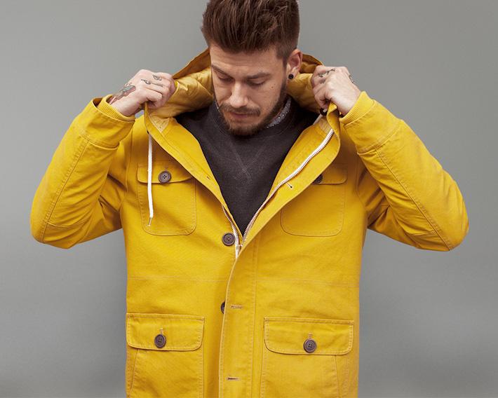 RVLT/Revolution, žlutá podzimní bunda pánská