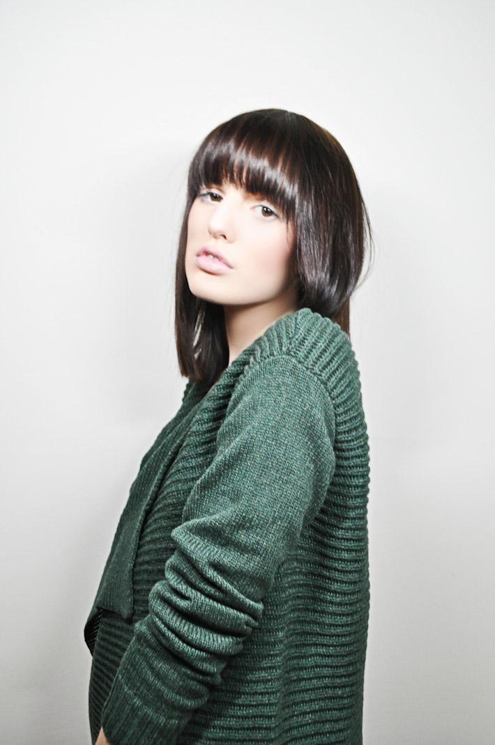 Kele dámský pletený svetr zelený