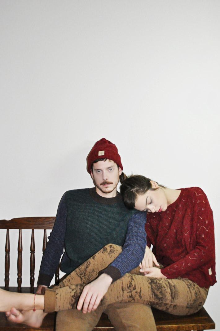 Kele dámský pletený svetr červený