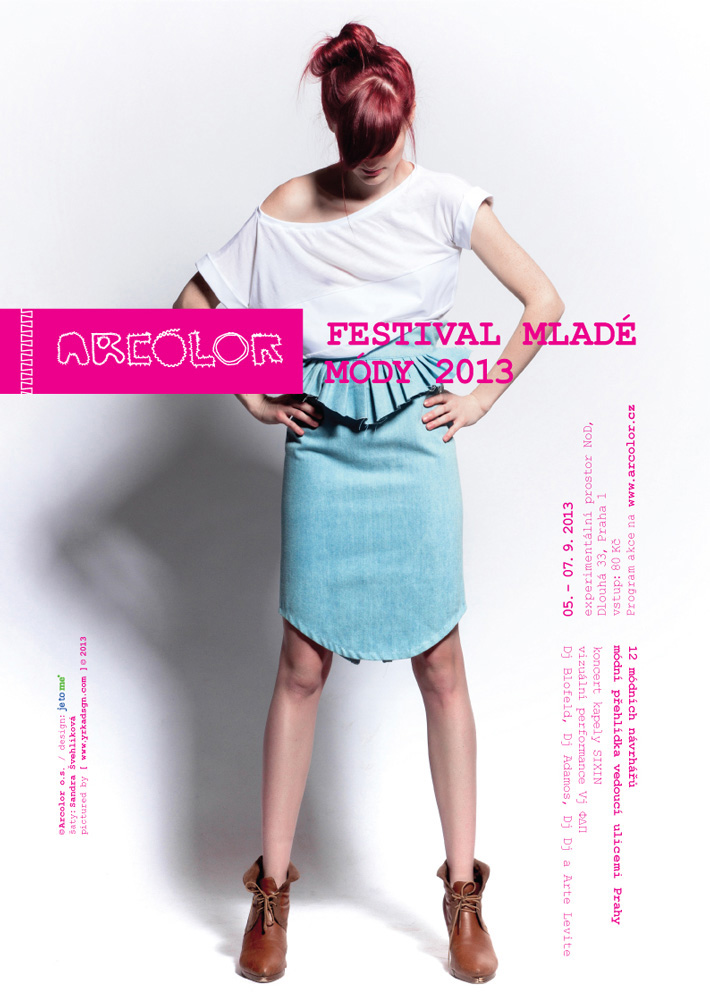 Arcolor festival mladé módy 2013